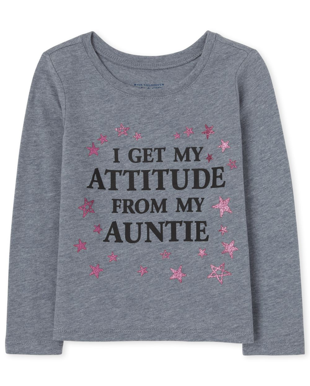Baby And Toddler Girls My Auntie Graphic Tee