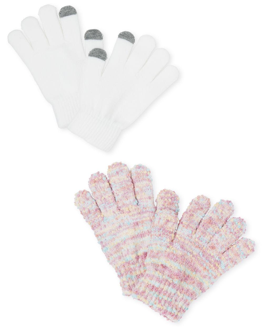 Girls Texting Gloves 2-Pack