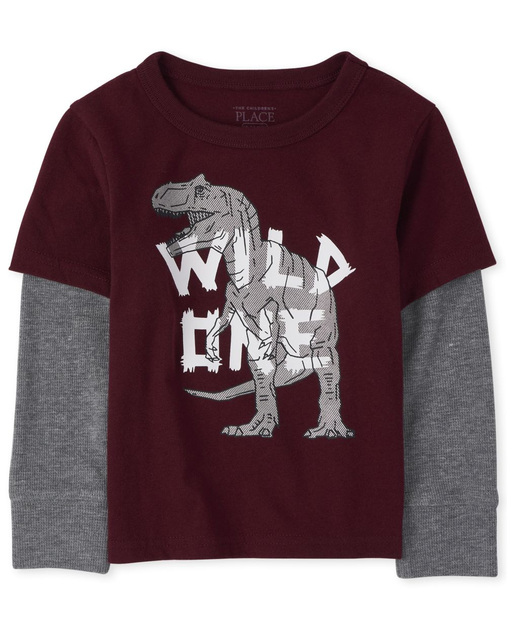 Toddler Boys Graphic Thermal 2 In 1 Top