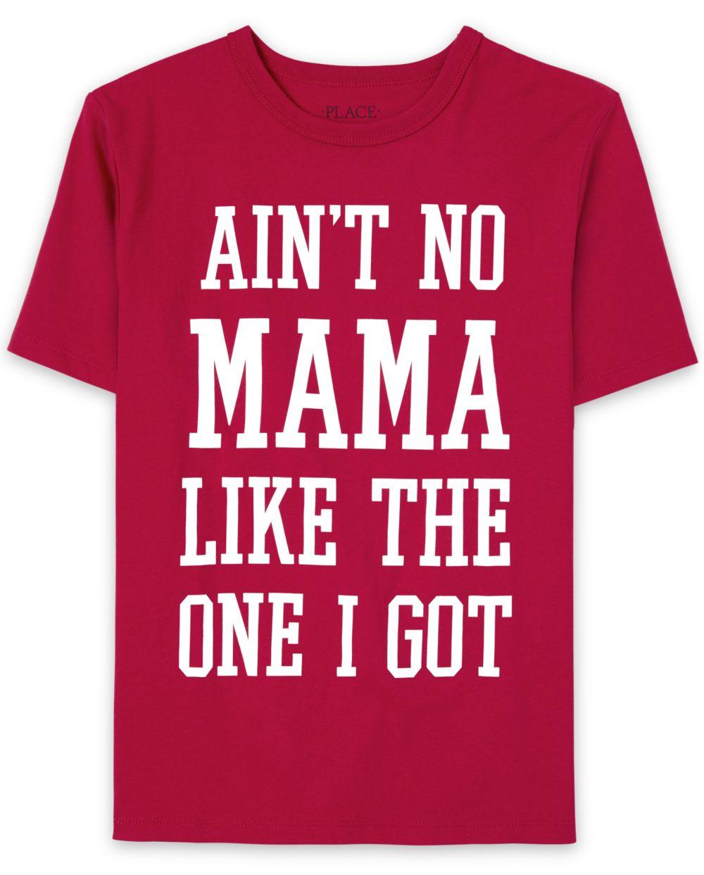 Boys Matching Family Mama Graphic Tee
