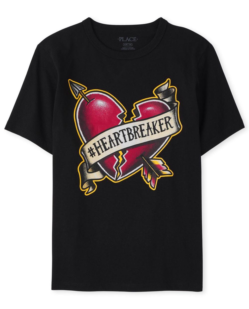 Boys Heartbreaker Graphic Tee