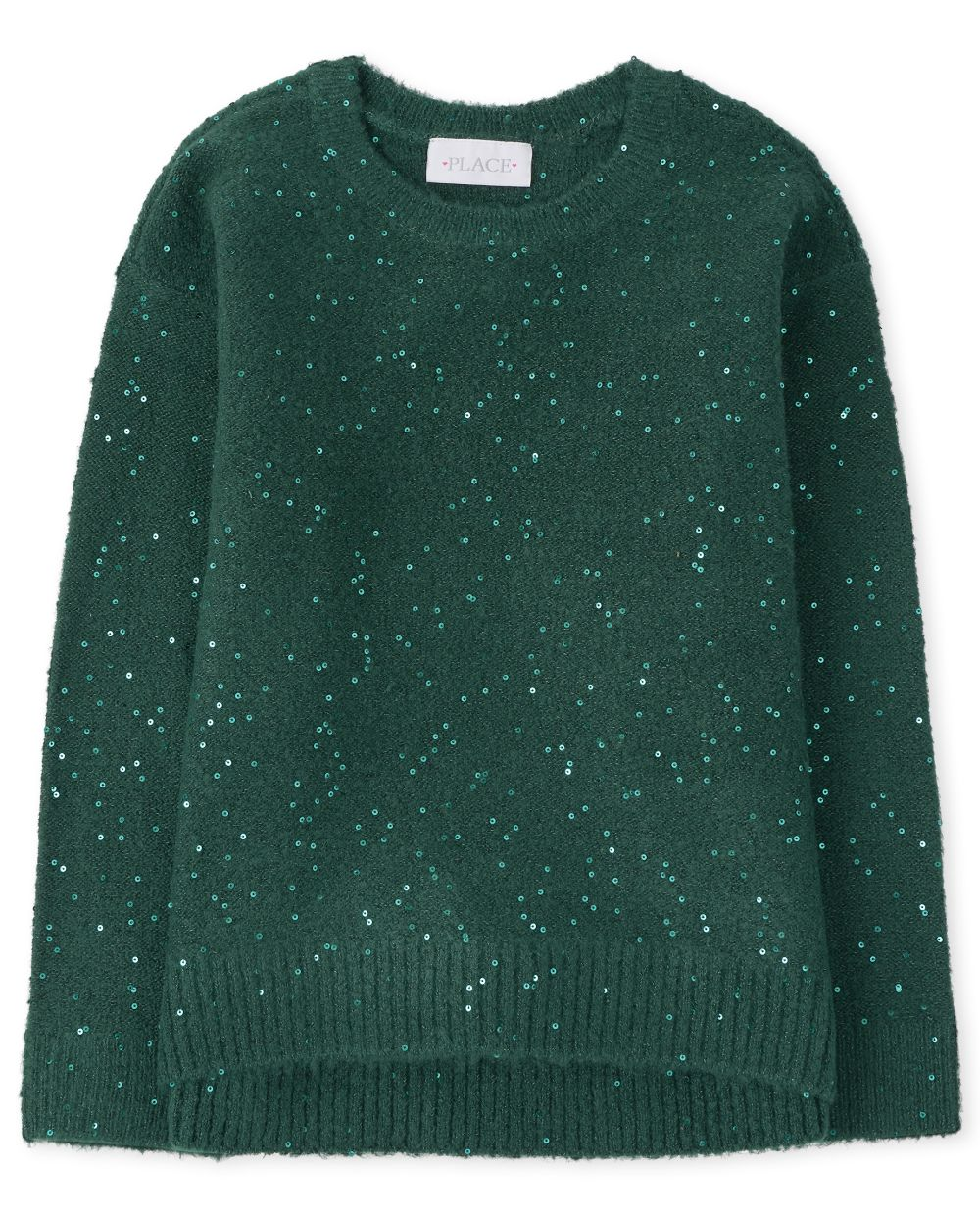 Girls Sequin Sweater