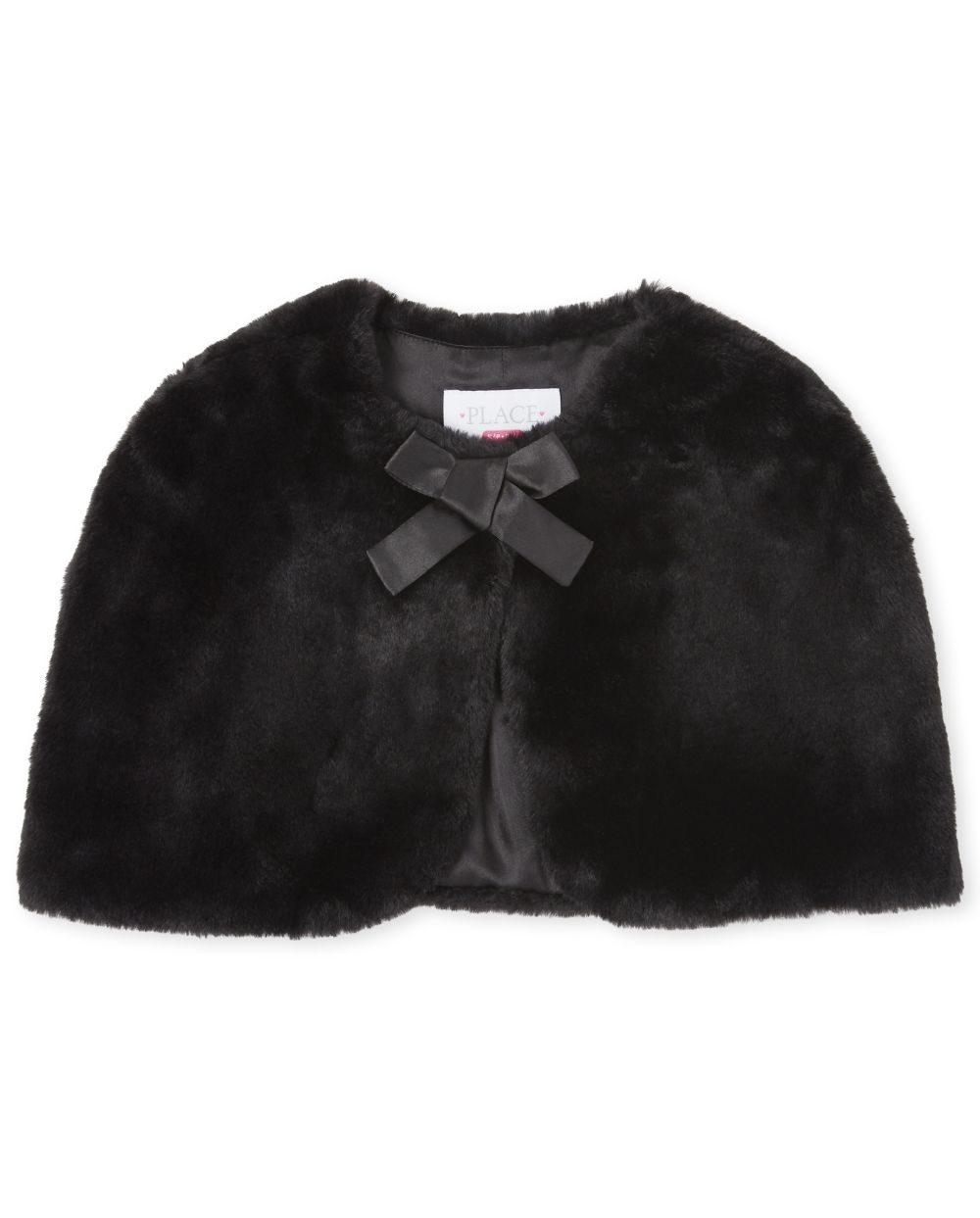 Girls Faux Fur Cape