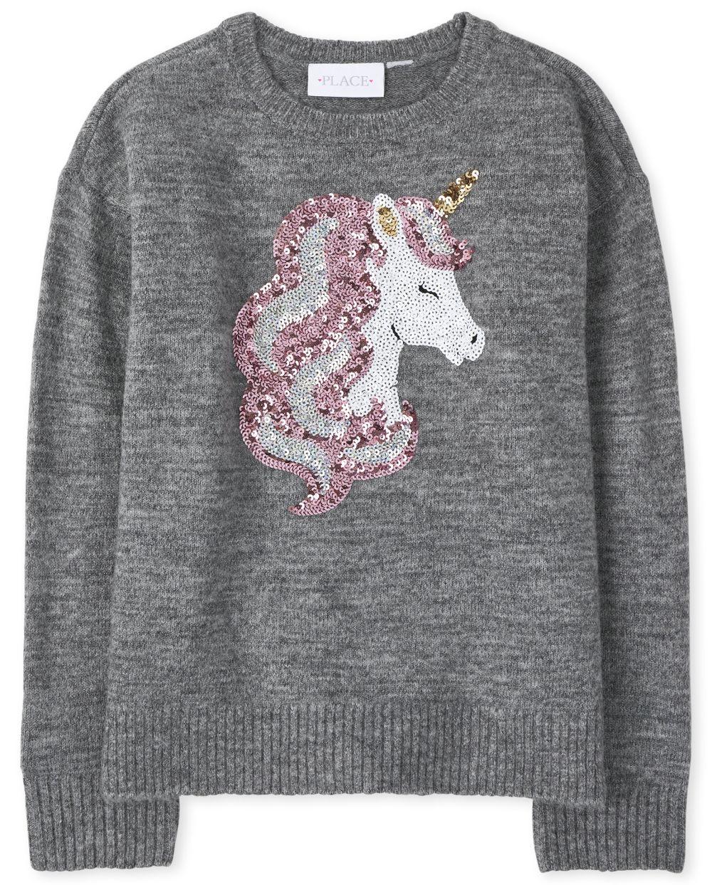 Girls Intarsia Sweater
