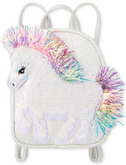 Flip Sequin Unicorn Girls Mini Backpack