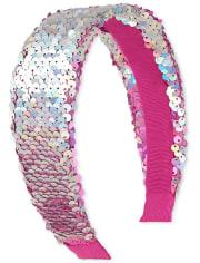 Girls Flip Sequin Headband