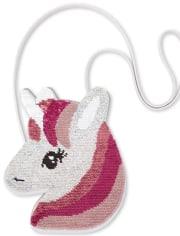 Girls Flip Sequin Unicorn Bag