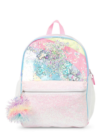 Kids Backpack \u2013 confetti squirrel